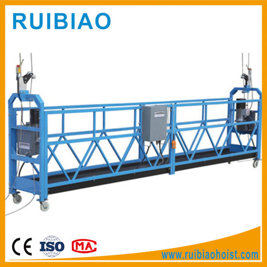 High Rise Building Window Cleaning Equipment Steel Suspended Scaffolding Suspended Platform