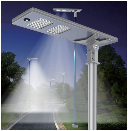 China 100w Led Solar Street Lights All