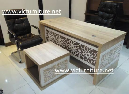 Turkey Design Office Table Turkish Office Desk Modern New Design Melamine Executive Table 2019 pictures & photos