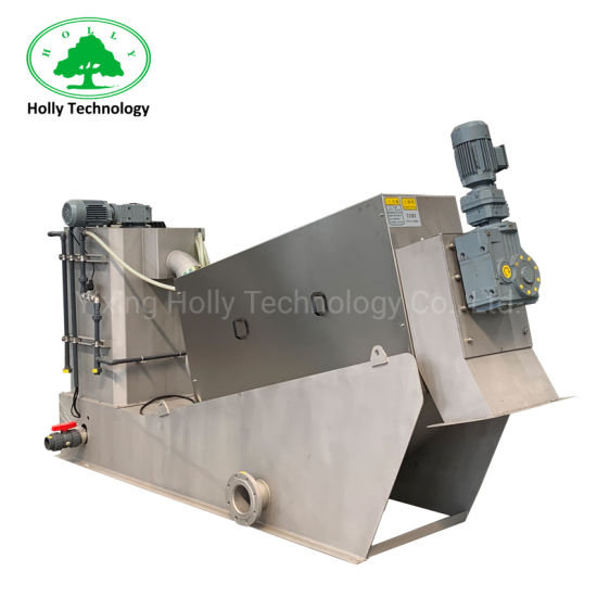 High Quality Screw Press Machine for Wastewater Treatment