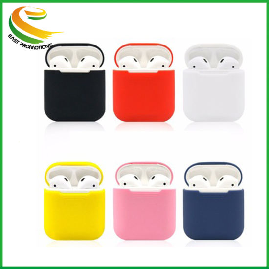 Silicone Earphone Rubber Cover Dustproof Wireless Silicone Earphone Case for Airpod Silicone Earphone Case