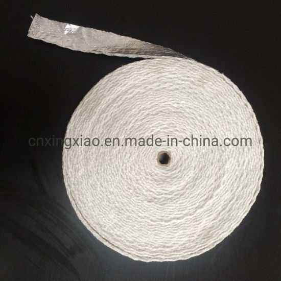 China Factory Aluminum Foil Ceramic Fiber Tape with Steel Wire Reinforced