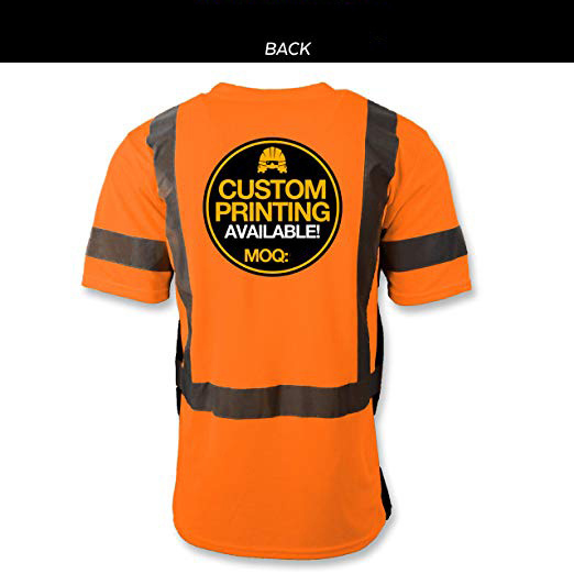 S, Neon Green - style 8 High Visibility Reflective Safety T-Shirts Customize Logo Hi Vis Long Sleeve Protective Shirts with Reflective Strips