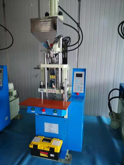 18 Tons 52g Vertical Injection Molding Machine AC/Dcconnector Molding Machine