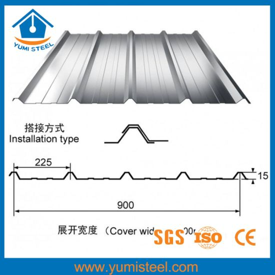 China Exterior Corrugated Steel Metal Roofing Wall Sheet For House China Roof Panels Steel Roof Sheets