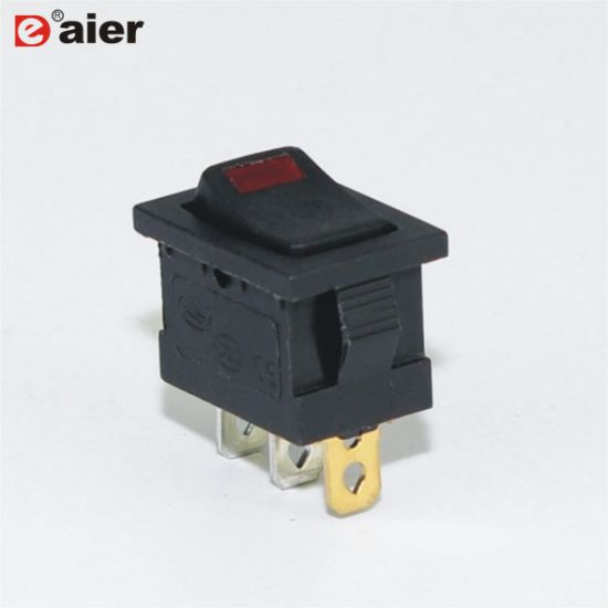 1x Red LED 220V Car Boat ON//OFF SPST 4-Pin Rocker Switch Waterproof Good