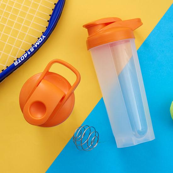 Sports Shaker Water Bottle, BPA-Free Plastic Water Bottle for Outdoor Hiking