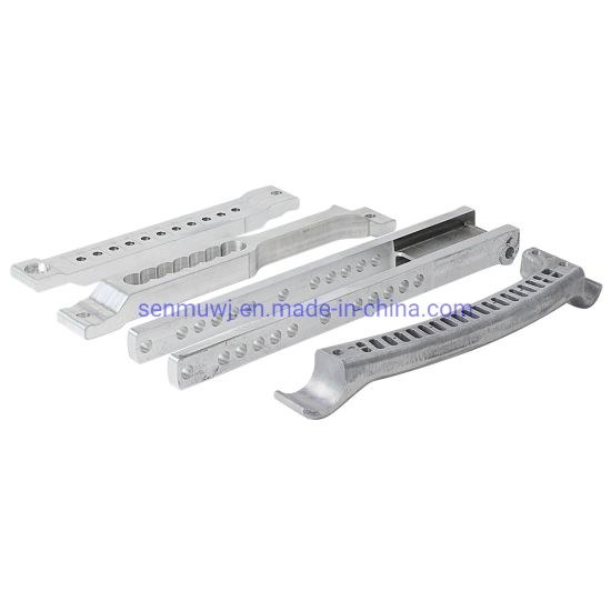 CNC Milling Part for Die-Casting Material, CNC Machined Spare Part for Foldable Wheelchair