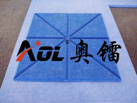 High Quality CNC Machine to Cut Acoustic Soundproof Material Silencer Wall Panels Knife Cutter