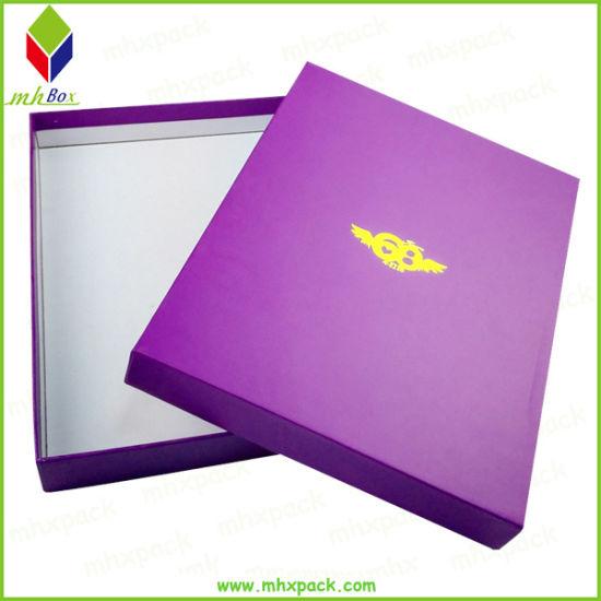 Custom Rectangle Cosmetic Gift Paper Packaging Rigid Box