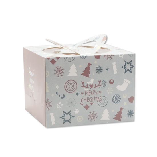 Recycle Art Paper Boxes Christmas Gift Paper Bag with Handle