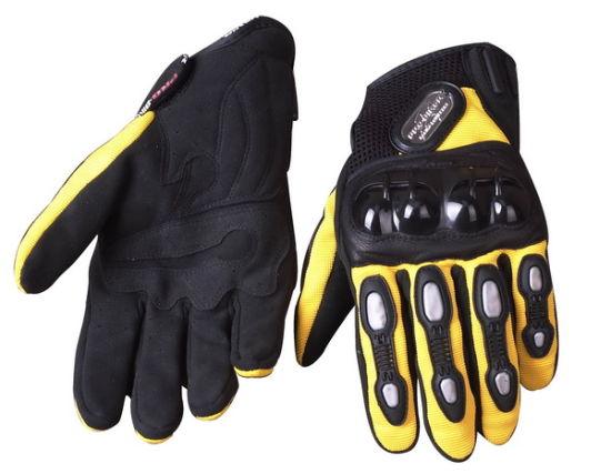 Fashion Mens Black Waterproof Textile Motorcycle Motorbike Gloves
