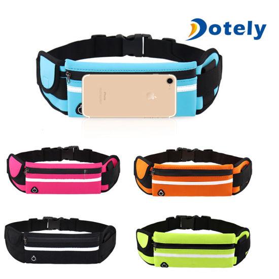 Running Hiking Sport Bum Bags Travel Money Phone Fanny Pack Waist Belt Zip Pouch