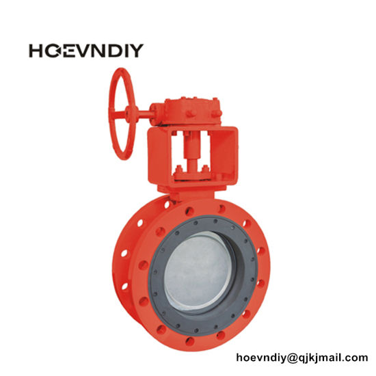 Manual, Electricity, Pneumatic Actuator Double Eccentric/Offset Butterfly Valve