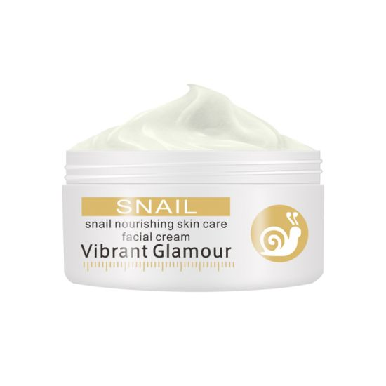 Vibrant Glamour Snail Skin Care Facial Cream Whitening Cream Contains Snail Secretion Extract to Dilute Spots Wrinkle Hydrating Cream