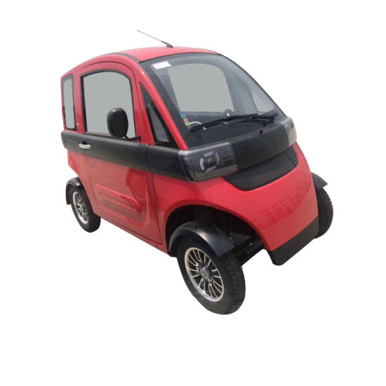 4 Wheels Closed Electric Smart Mini Car Mobility Vehicle