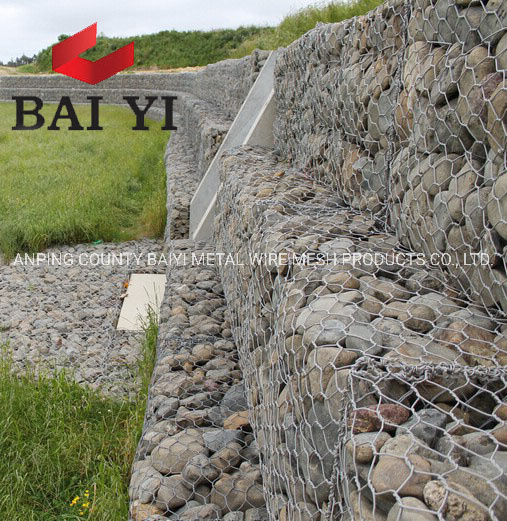 China Lowes Cost Price Stone Cage Gabion For Retaining Wall