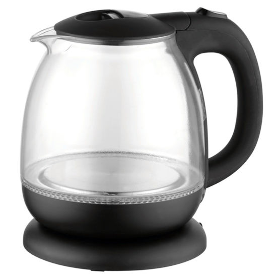1.0 Liter 1100W Glass Electric Water Kettle