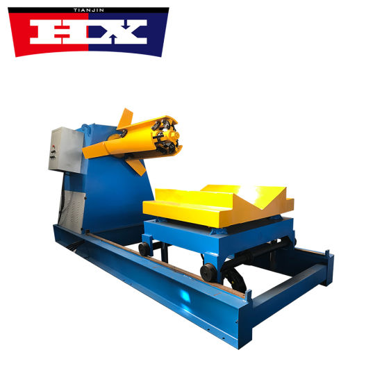 Automatic Hydraulic Decoiler for Roll Forming Machine pictures & photos