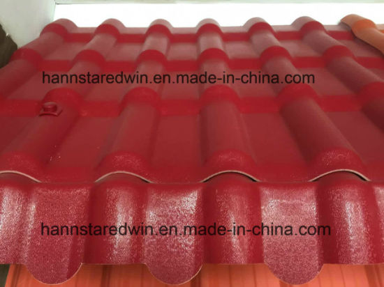 Quality-Warranty ASA Villa Roof Tile/Synthetic Resin Sheet pictures & photos