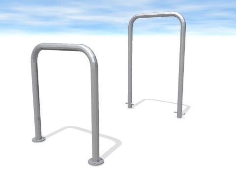 Galvanized or Powder Coated Inverted U Bike Rack pictures & photos