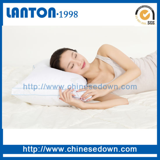 China Wholesale Cotton DuckGoose Feather Down CushionsPillows Best Down Feather Pillow Inserts Wholesale