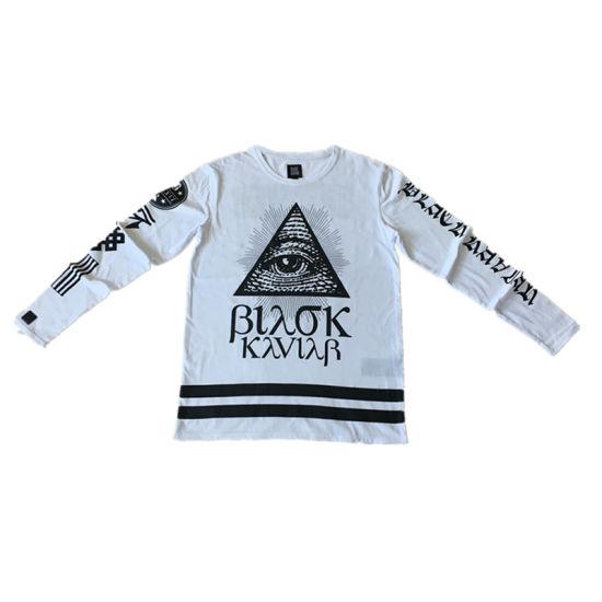 Custom Quality Printing Man′ S T Shirt of Round Neck