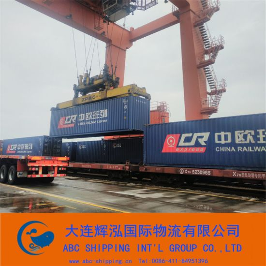 Train Cargo Shipment From China to Turkmenistan pictures & photos