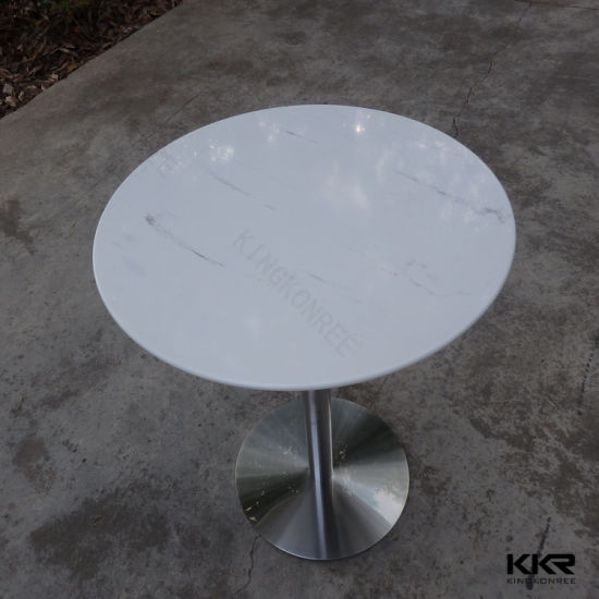 China 60cm Round Solid Surface Dining Room Furniture Table China