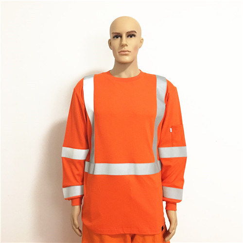 Flame Retardant Fluorescent Anti-Static Workwear with Reflective Tape