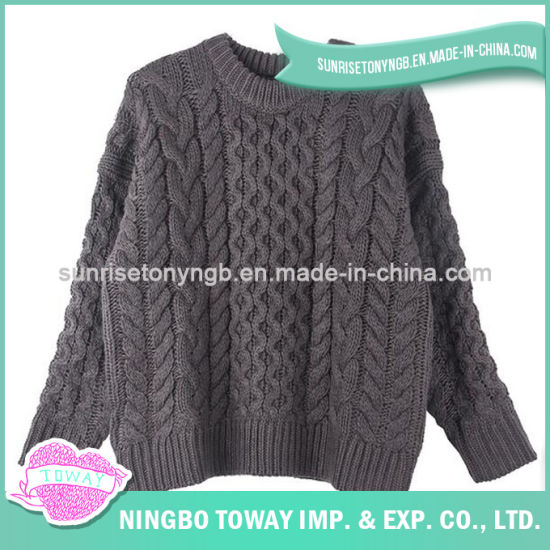 0cf81a35e0 Hand Knitted Ladies Fancy Oversized Wool Crochet Sweater pictures   photos
