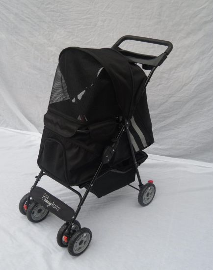 4 Wheels Dog Outdoor Carrier Pet Stroller Bb-PS01 pictures & photos