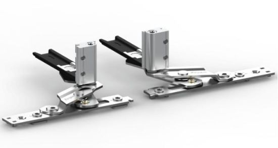Light Duty Adjustable Stainless Steel Hinge for C Groove pictures & photos