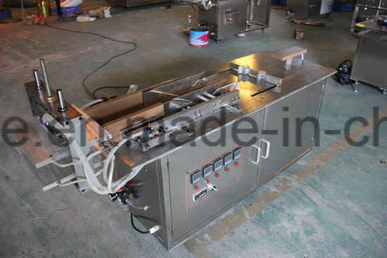 Semi Auto 3 D Paper Box Packing Machine for Various Cosmetic Food Box pictures & photos