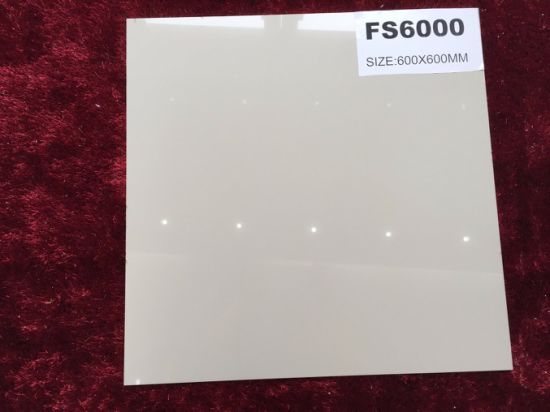 Ivory White Polished Porcelain Floor Wall Tile (FS6000) pictures & photos