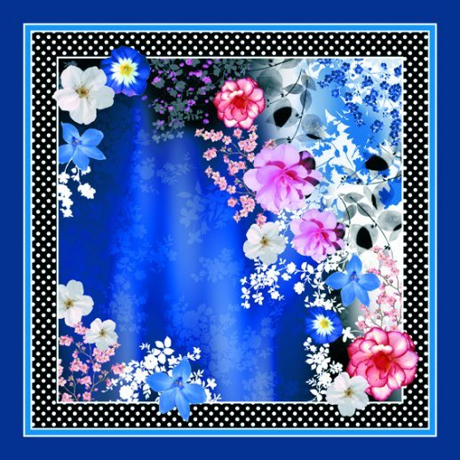 Beautiful Digital Printed Silk Scarf (F13-0020) pictures & photos