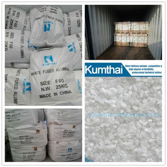 High Quality White Aluminum Oxide Fused Alumina (WA/WA-B/WA-P/WA-R)