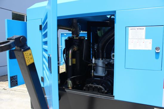 Dream 132kw 180HP Dream Diesel Driven Type Screw Air Compressor pictures & photos