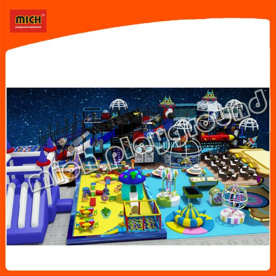 Funny Kids Amusement Park of Soft Inflatable Playground