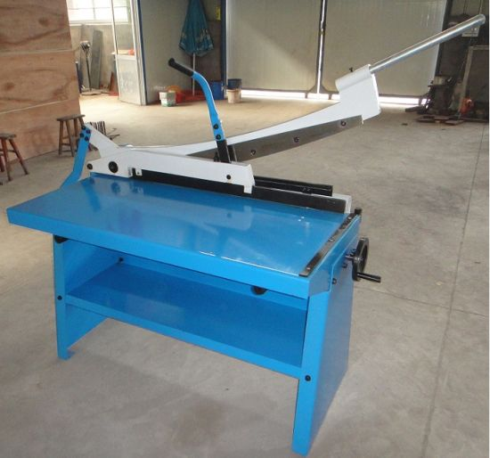 GS-1000 Guillotine Shear Equipment with Ce Standard pictures & photos