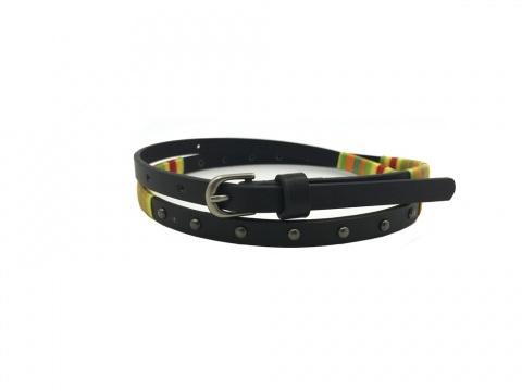 Wholesale Fashion Custom Logo Designer Women PU Belts with Rivets