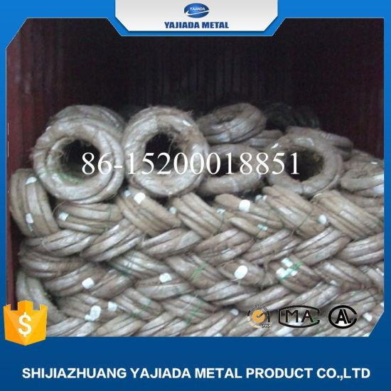China Galvanized Binding Wire for Qatar Market Construction