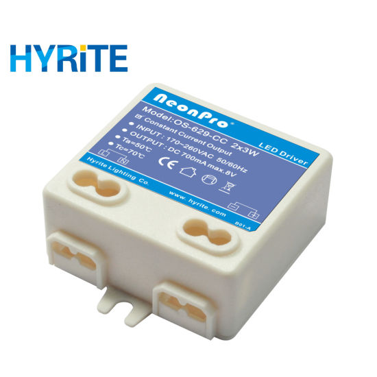 2W 8W 350mA Constant Current LED Driver for Commercial Lighting