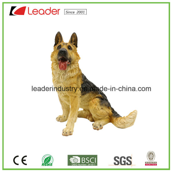 Lovely Decorative Polyresin Dog Statue for Home Decoration and Garden Ornaments pictures & photos