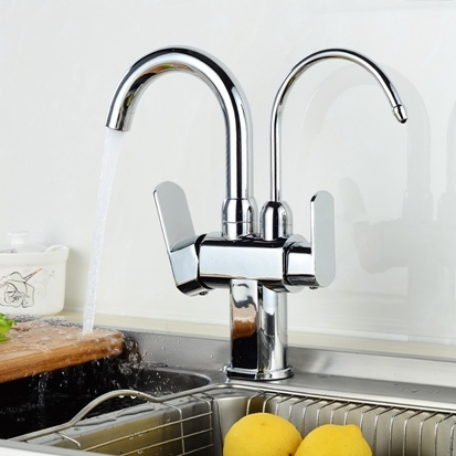 FLG Water Faucet 3 Way 2-Function Water Outlet pictures & photos
