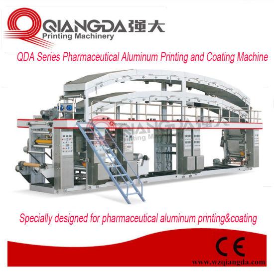 Qda Series Pharmaceutical Aluminum Printing and Coating Machine