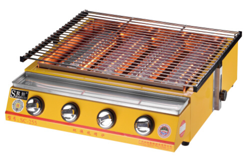 Ce Technology Excellent Quality Kitchen Gas BBQ Grill