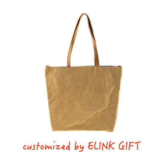 DuPont Tyvek Paper Washable Kraft Paper Tyvek Tote Bag Shopping Bag Shoulder Bag