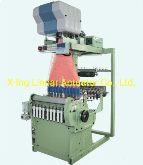 Computerized Flat Warp, Weft Jacquard Loom Electronic Jacquard Loom Ribbon Making Machine