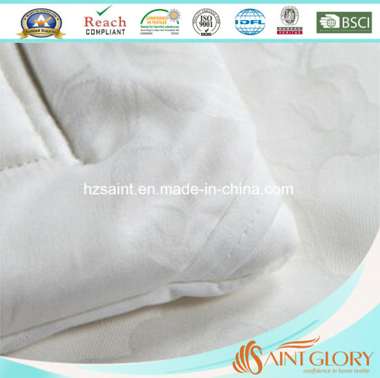 Hot Sale Silk Cover Duvet Handmade Silk Filling Comforter pictures & photos
